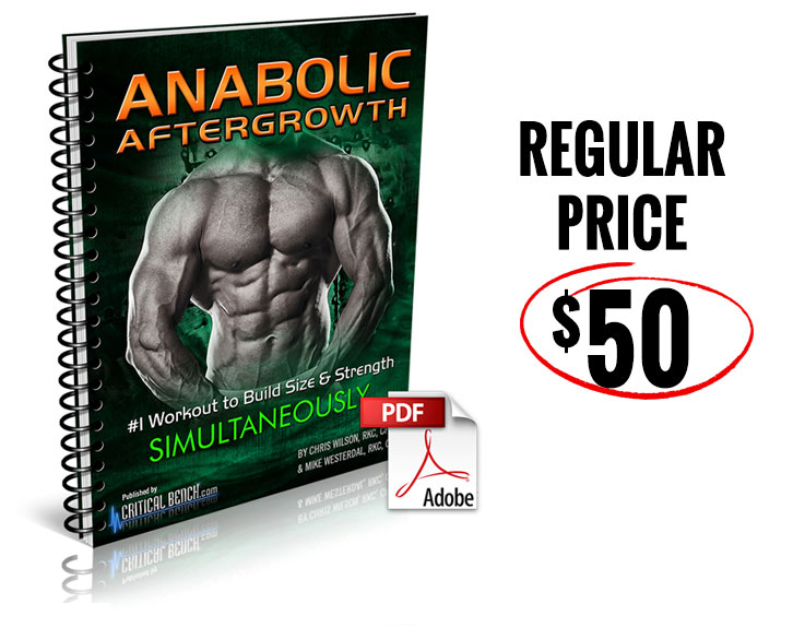 Anabolic AfterGrowth $50 Regular Price